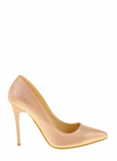 Derigo Bronz Lavezzi Kadın Klasik Topuklu Ayakkabı 241815 Bronz